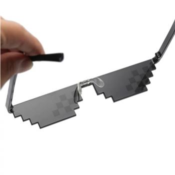 Thug life 8-bit pixel zonnebril - UV400