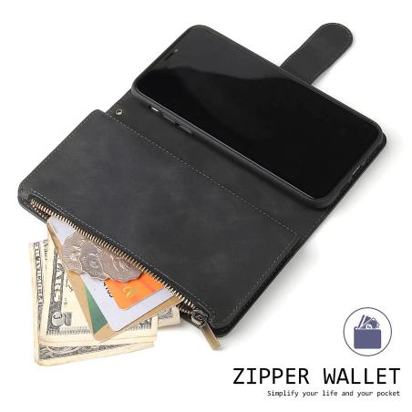 iPhone Luxe lederen Wallet...