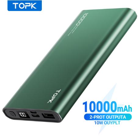 TOPK Powerbank 10.000Mah...